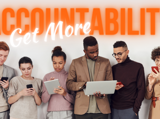 Get More Accountability